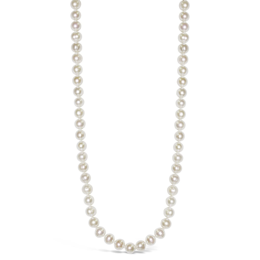 Real Everyday Classic Pearl Long Necklace