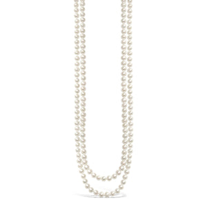 Real Everyday Classic Pearl Opera Necklace