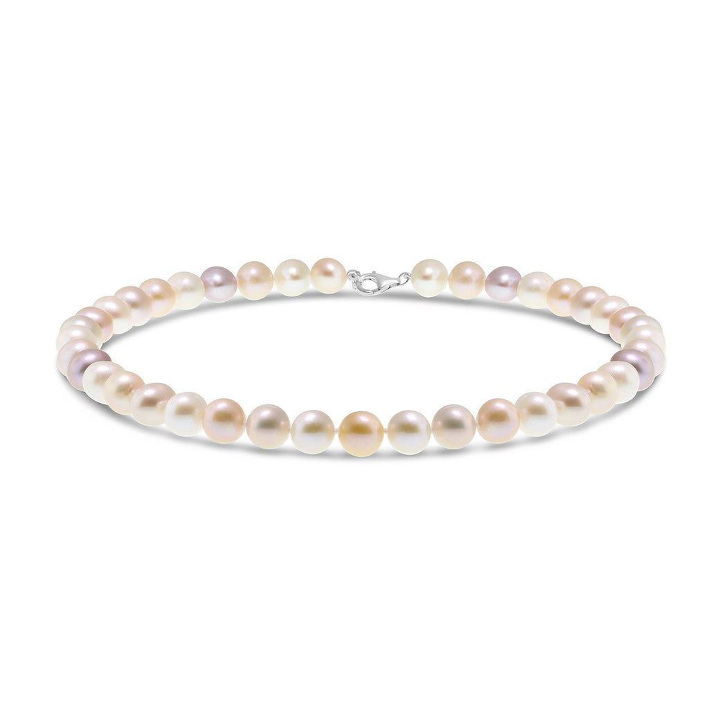 Real Everyday Classic Pearl Short Necklace