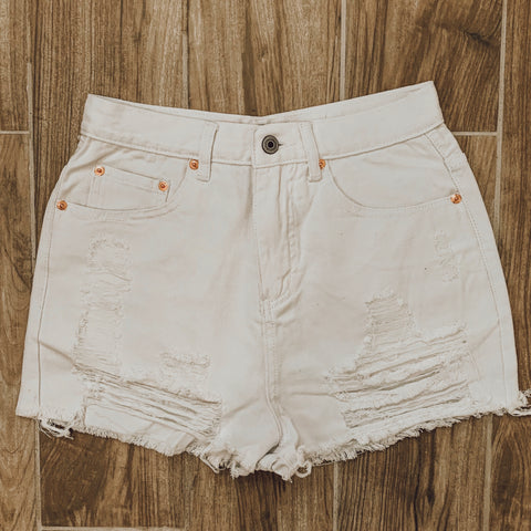 Alpine Snow Ripped Shorts