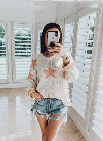 You're A Star Knit Top