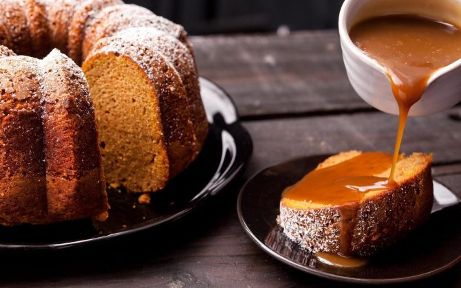 How to Get Bundt Cake Out of the Pan in One Piece