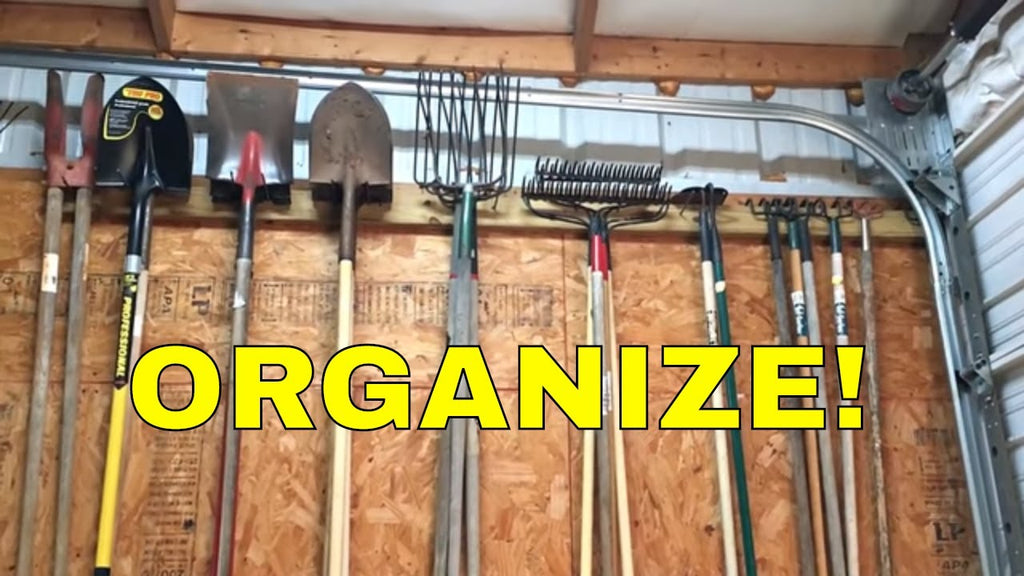 Here's a cool way to organize a garage or shop