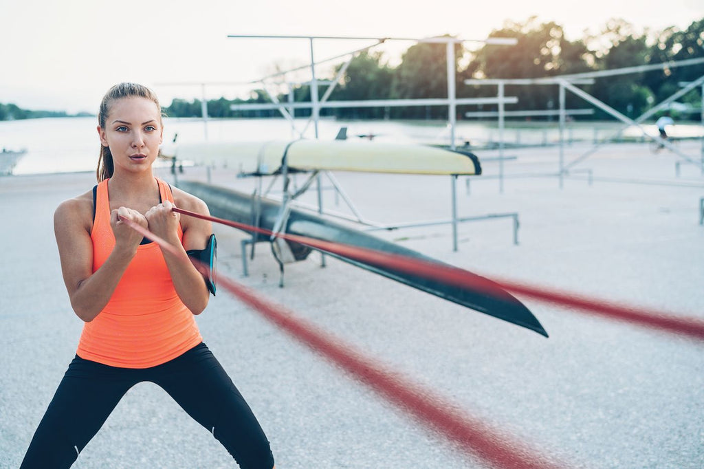 7 resistance band shoulder exercises that will correct your posture in no time