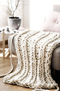 Gratifying Chunky Throw Blanket