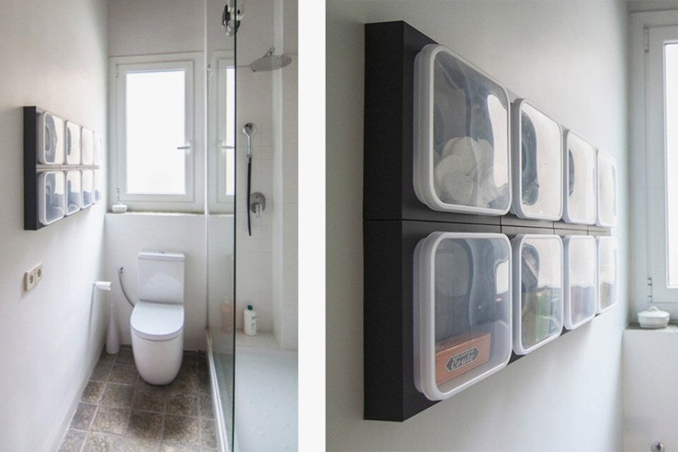 Exquisite Bathroom Wall Organizer