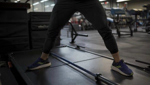 The Jefferson squat is a unique squat variation that can increase leg strength, size, core stability, and build power in multiple planes of movement