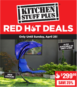Kitchen Stuff Plus Canada Red Hot Deals: Save 70% on 10 Pc