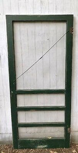 Dishy Farmhouse Screen Doors