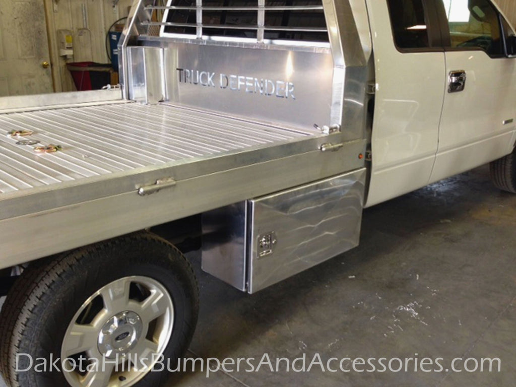 Mercilessly Beautiful Flatbed Truck Tool Boxes