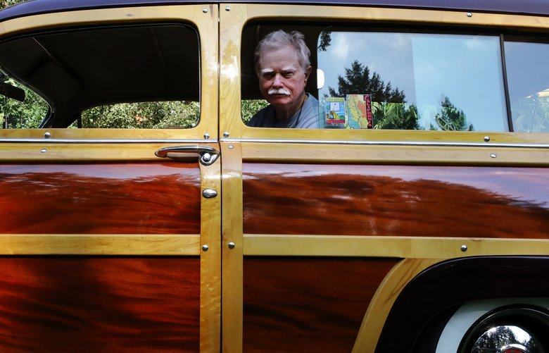 In Tacoma, he keeps the California Dream alive one 'woodie' at a time
