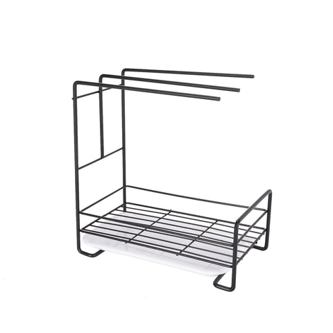 Iron Space Saving Kitchen Sink Drying Rack