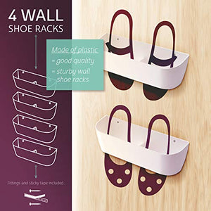 Best 20 Wall Mounted Shoe Racks