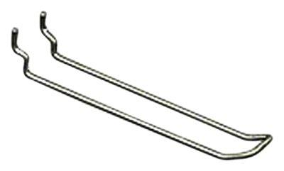 Azar Displays 701160 SAFETY Metal Loop Hook, 6""