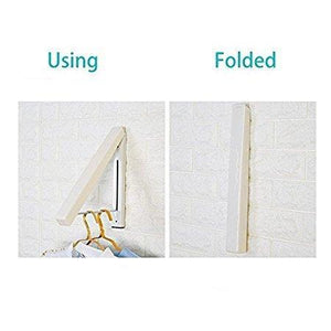 Explore folding clothes hanger wall mounted retractable clothes hanger drying rack great space saver for laundry room attic garage indoor outdoor use stainless steel easy installation 81258