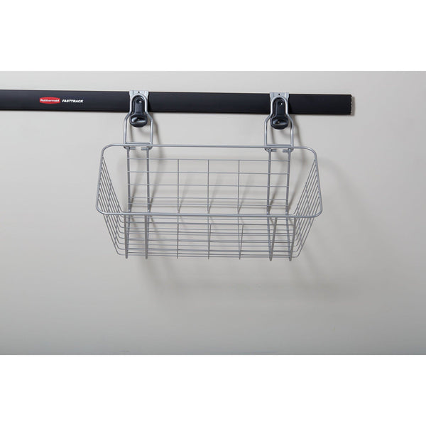 Budget rubbermaid fasttrack garage storage wire mesh basket