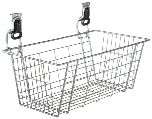 Best rubbermaid fasttrack garage storage wire mesh basket