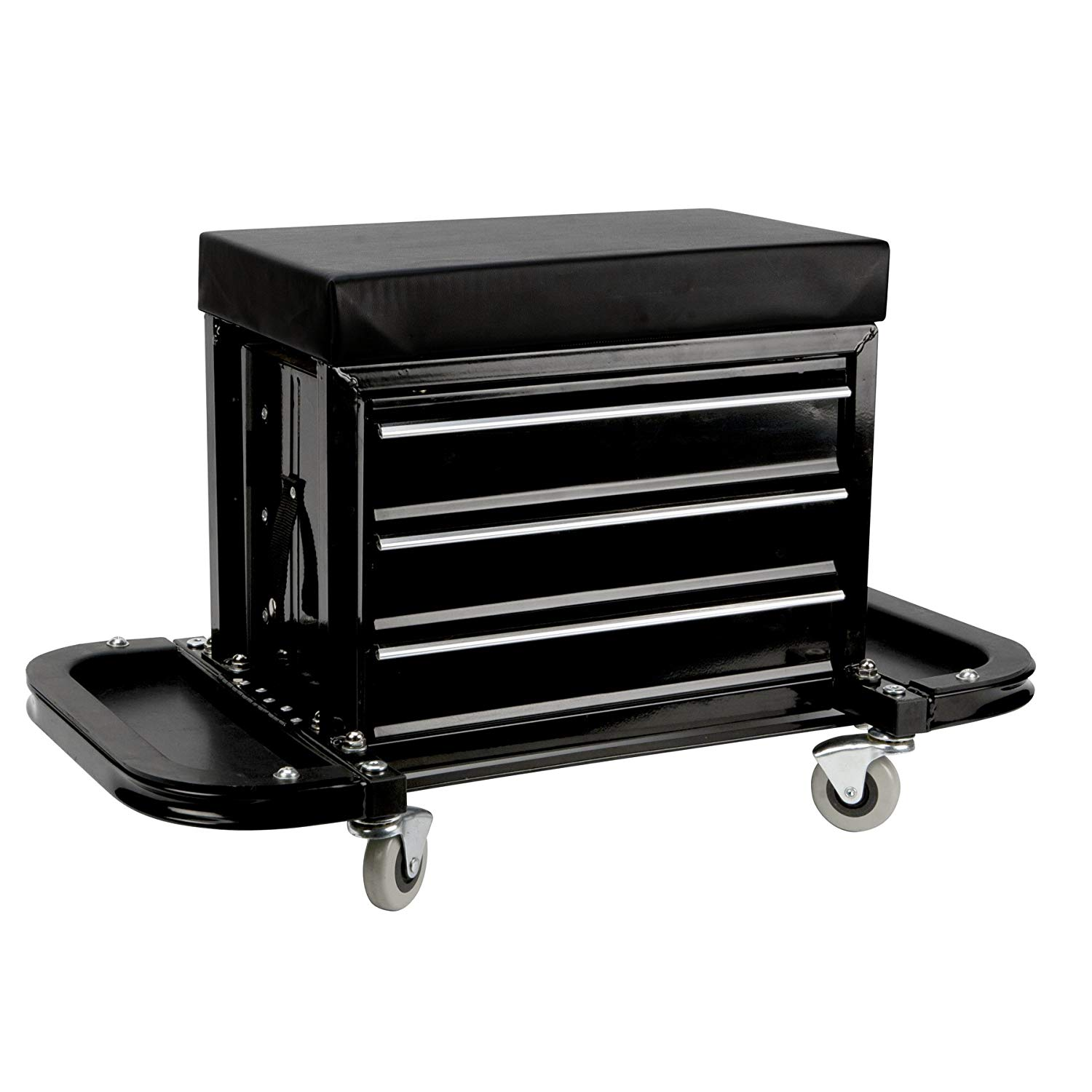 Performance Tool W85025 Creeper Seat Tool Box