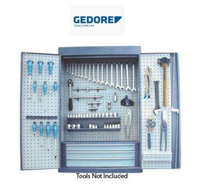 Gedore Tool Cabinet Only, 650 x 250 x 970 - GED661155