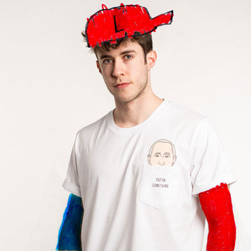 Putin Shirt - Model angemalt