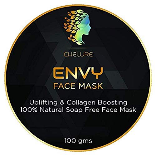 Chelure Envy Face MaskUplifting & Collagen boosting 100% Natural Soap Free Face Mask