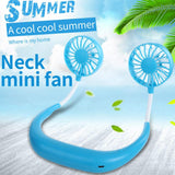TUZECH Auto Cool Sports Neck Portable Rechargeable Fan - Just Launched In India