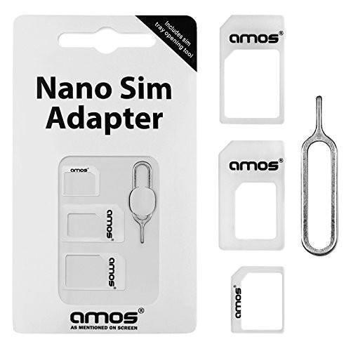 Adapter - Tuzech Sim Card Adapter For Phone With Free Pin