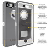 Back Cover - Otterbox Drop Free Case For IPhone ( Promotional Offer) - BLACK / GREY