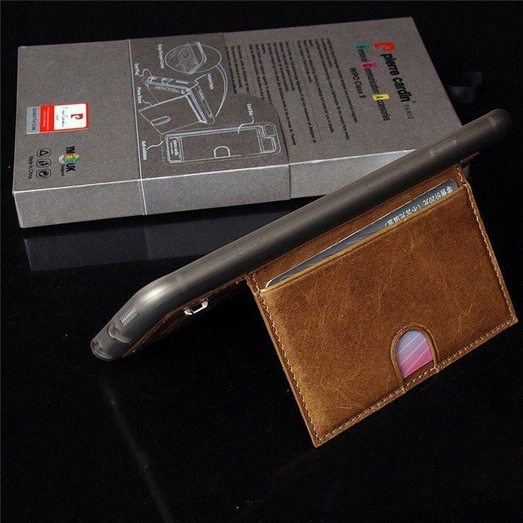 Back Cover - Pierre Cardin Card Holder Case ( With Certificate)