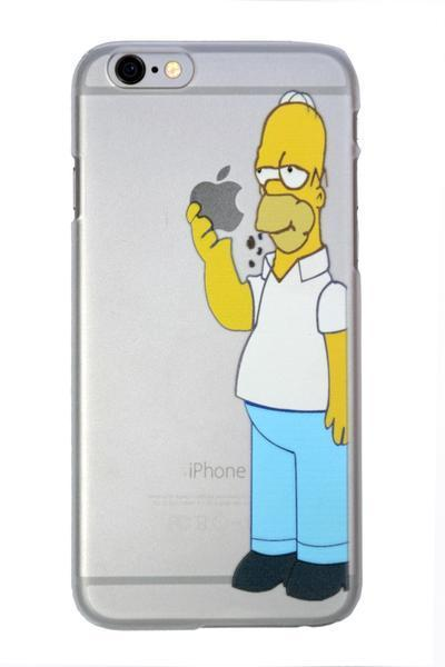 Back Cover - Simpsons Holding Case For Apple IPhone  ( ALL MODELS)