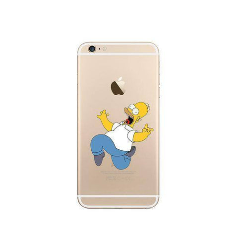 Back Cover - Tuzech Iphone 5s Hard Case (SimpSons)