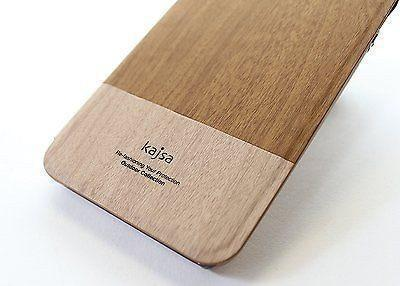 Back Cover - Wooden Finish Kajsa Leather Back Case For Apple IPhone 6 Plus ( Free Screenguard)