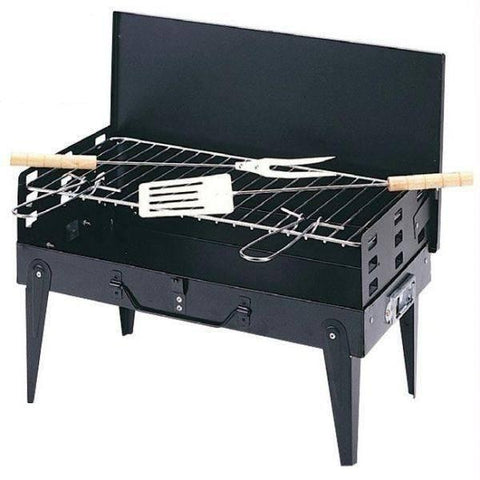 Barbeque Set - Portable Barbeque Set With Complete Tools
