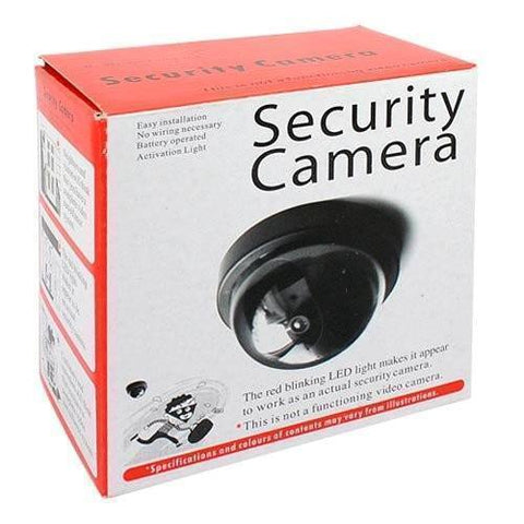 Camera - Mini Dummy Security Camera Flashing Light Safety Crime Home Business Fake