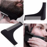 Comb - In India Beard Shaping Comb Styling Tool Beard Comb(Blue)