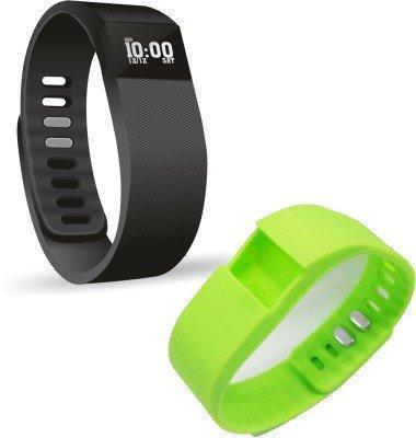 Fitness - Tuzech Digital Fitness Tracker Vibration With Step Counter And All Notifications ( 1 Tracker With 1 Strap)