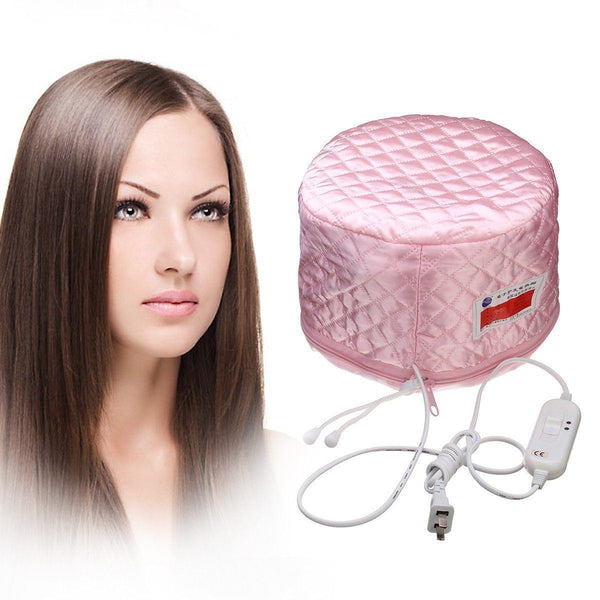 Hair - Hair Grow Thermal Massage Steam Oil Cap - Free CONOR Hair Dryer