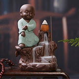 Incense Burner - Fighter Large Styles Smoke Backflow Cone Incense Holder Decorative Showpiece - Large
