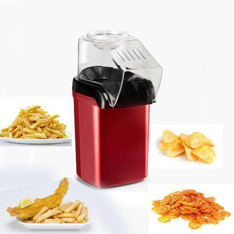 Kitchen Aid - Tuzech Oil Free Easy & Quick Tasty Snack Maker At Home Healthy And Nutritious Kids Friendly Popcorn Maker