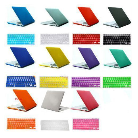 "Laptop Bags - Macbook Hard Shell Case For 15""   Pro And Retina ( Free Keyboard Guard + Screenguard)"