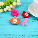 Pacifier - Big Lips Pacifier For Babies - BPA-Free, Odorless, 100% Food-grade Silicone