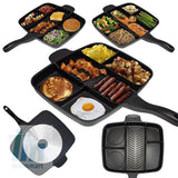 Pan - Tuzech Veg-Non-Veg 5 In 1 Magic Pan (Family Pan) (Non-Stick) (EXtra- Large)
