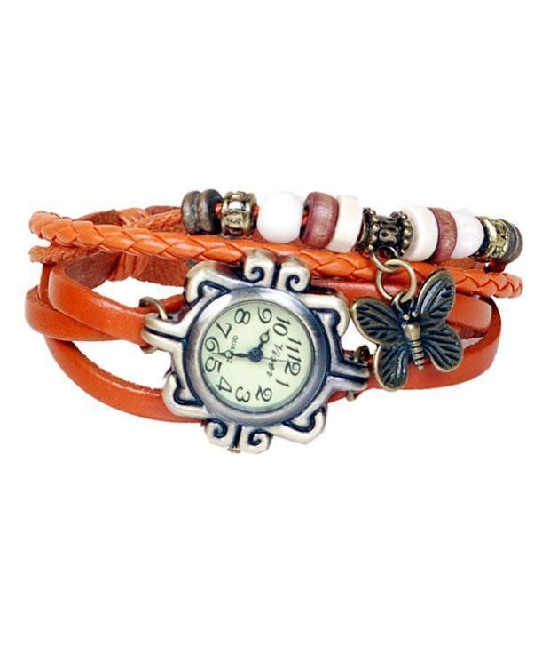 Watch - Anch Vintage  Analog Watch - For Girls, Women- SET OF 5(Select The Colour)