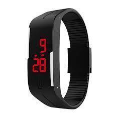 Watches - Tuzech Rubber Maganet Sporty Led Digital Waterproof Watch- For Boys,Men,Girls