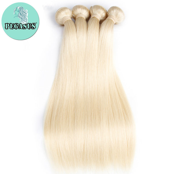613 honey blonde brazilian straight human hair extensions remy hair