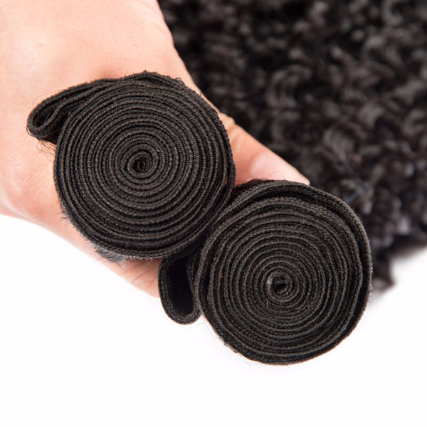 kinky curly wholesale brazilian virgin remy human hair extensions weave weft bundles