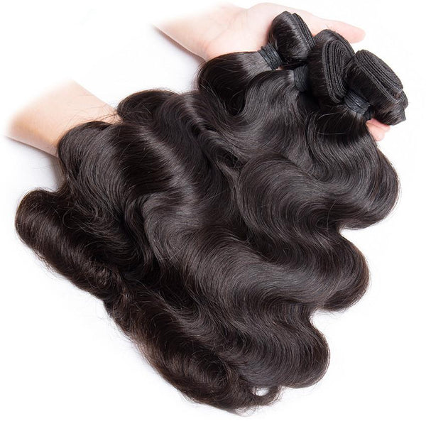wholesale brazilian virgin human hair extensions bundles weave body wave