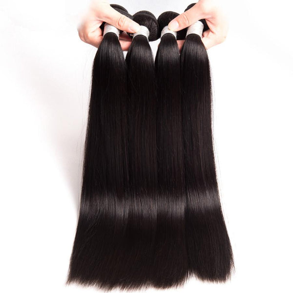 wholesale bulk brazilian remy virgin human hair extensions straight
