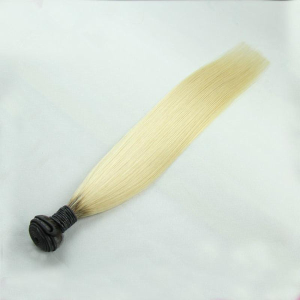 T1b/613 Brazilian Peruvian Malaysian Indian Straight Human Hair 3 Bundles