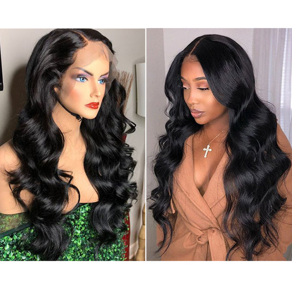 body wave wig for black women